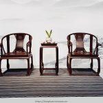 Bàn ghế gia đình kiểu Trung Quốc