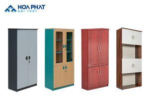Tủ gỗ tài liệu Hòa Phát